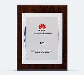 HUAWEI Collaboration Award 2013