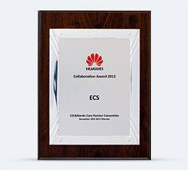 HUAWEI Collaboration Award 2013