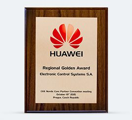 HUAWEI Regional Golden Award 2015