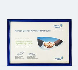Johnson Controls Authorized Distributor 2013