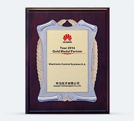 HUAWEI Gold Medal Partner 2014
