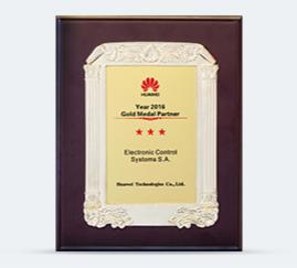 Huawei Gold Medal Partner 2016