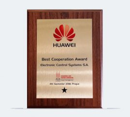 HUAWEI Best Cooperation Award 2018